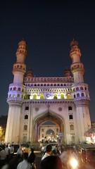 Charminar Area (Rajesh_India) Tags: india bazaar hyderabad bazar charminar chudi