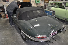 "1966 Jaguar XKE • <a style=""font-size:0.8em;"" href=""http://www.flickr.com/photos/85572005@N00/6704501947/"" target=""_blank"">View on Flickr</a>"