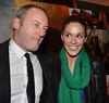 Liam Cunningham and Glenda Gilson The Irish premiere of 'Warhorse' at The Savoy Dublin, Ireland