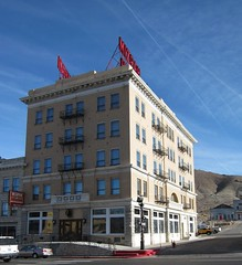 Mizpah Hotel Tonopah NV 1939a (DB's travels) Tags: nevada tonopah mizpahhotel winter12