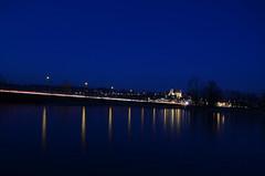 once upon a time (goerdie_l. on the slow photo road) Tags: bridge night schweiz switzerland dusk rapperswil zürichsee lakeofzurich woodenbrigde cantonofschwyz pilgrimspathway