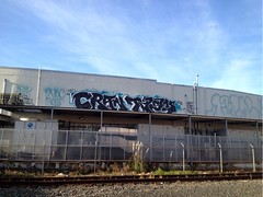 Cran Tase (the graveyard shift) Tags: ca art graffiti oakland ld tdk tase cran