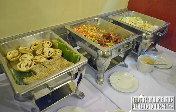 Other food on their buffet