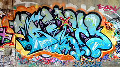 bely (thesaltr) Tags: streetart art graffiti canal bayarea eastbay hcm ase bely c003 thesaltr