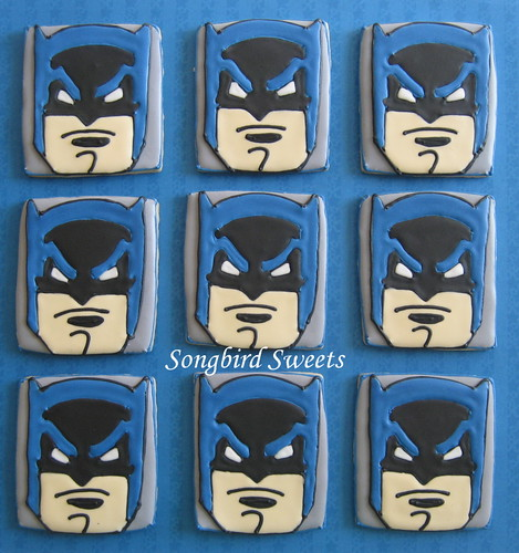 Batman Faces