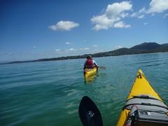 27 Jan 12 Freycinet Paddle morning kayak tour (6) (800x600) (Freycinet Adventures) Tags: sunset adventure kayaking tasmania tours seakayaking freycinet