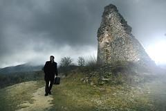 Travel through time (Romain Cassagne) Tags: travel alpes grenoble canon la tour 7d sans valise cokin isre nd8 venin