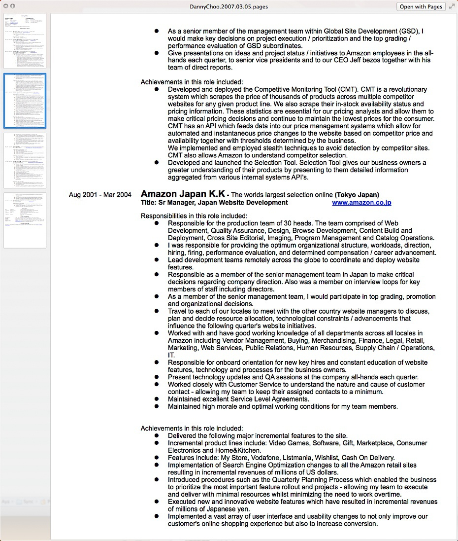 Culture Japan, How To Write A Resume
