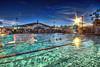Laguna Beach Water Polo (/\ltus) Tags: california pentax wideangle socal handheld southerncalifornia hdr lagunabeach waterpolo k7 5xp municipalpool