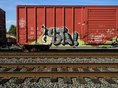 "Quota (KickPushPaint aka Sk8Hamburger) Tags: railroad house art train painting graffiti paint tag rr boxcar piece tagging tone freight dma spesh isb isbk uek quota egroe paint"" kuota cmer ""spray dmak ceamer ciemz seemer aeyso"