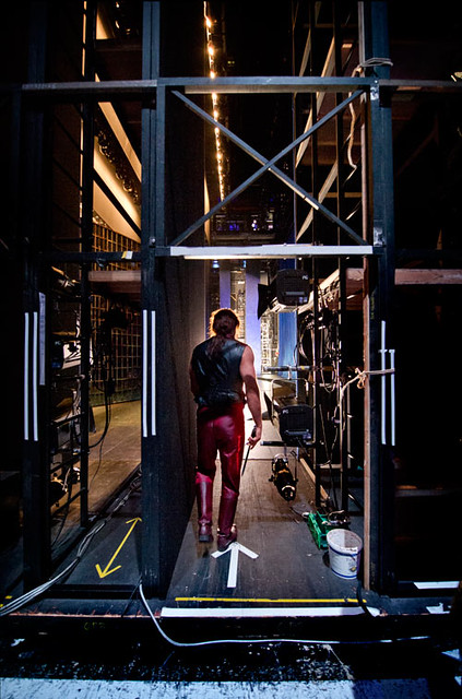 "Backstage with Gerald Finley in Francesca Zambello's Don Giovanni at The Royal Opera.  The Royal Opera season 2011/12. <a href=""http://www.roh.org.uk"" rel=""nofollow"">www.roh.org.uk</a> Photo: Sim Canetty-Clarke"