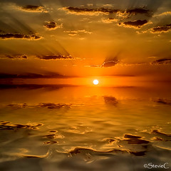 Ibiza Sunrise (StevieC-Photography) Tags: sea sky cloud sun sunlight seascape reflection nature rock vertical sunrise outdoors island photography spain nopeople dramaticsky scenics tranquilscene beautyinnature breakingdawn colourimage steviec ibizaisland ibizasunrise