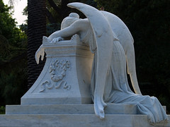 The Angel of Grief (1894-1908) (pjink11) Tags: california sculpture birds museum campus olympus mausoleum angels sfbayarea marble 1908 2010 stanforduniversity 1899 e500 zd40150mm angelofgrief