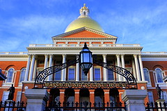 Closeup Massachusetts State House - Boston - #04022012-IMG_0398a (photographic Collection) Tags: house boston canon ma eos state massachusetts 4th bostoncommons commons photographic collection 365 feb 2012 massachusettsstatehouse mygearandme photographiccollection day4m2 bkalluri