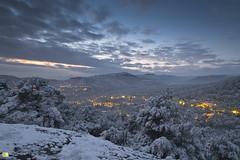Matadepera (Bandal) Tags: winter snow nature night noche natural snowy nieve natura paisaje montserrat invierno catalunya neu nit nevado paisatge terrassa lloren hivern lamola matadepera valls vallsoccidental nevat bandal santlloren pedritxes xavigalvez