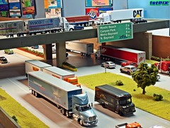 Interstate Highway Overpass (Phil's 1stPix) Tags: miniature hotwheels greenlight trucks diorama matchbox scalemodel diecast dcp firstgear johnnylightning newlayout diecastcar diecastmodel diecasttruck diecastcollection 164scale speccast diecastcollectible 164diecast diecastvehicle 1stpix miniaturevehicle scalevehicle diecastdiorama 164truck 1stpixdiecastdioramas diecastlayout highwaydiorama 164scalediecast 164diorama diecastautomobile roaddiorama trafficdiorama interstatediorama
