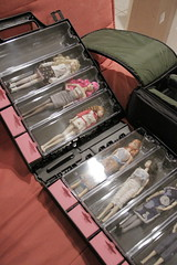 Collectible Carrier doll case of my own (atrikaa) Tags: mattel barbiedoll sekiguchi crystalline tarinatarantino momokodoll twistnturnbarbie dollcase menuetteatsummergetaway sparkling80s milkteaparty modelmusedoll myfavoritebarbiedollseries vintagereproductionsbarbie vintagereprosdoll collectiblecarrier