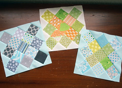 granny square blocks (aquilterstable) Tags: squares granny