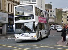 W866 PNL (Cammies Transport Photography) Tags: street bus ferry newcastle coach go north terminal east lancs 327 dfds loyne grainger seaways w866pnl