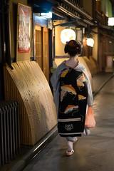 Maiko Momifuku (cedphotos) Tags: japan kyoto maiko geiko geisha    gion pontocho