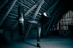 Aura (Robin Fritzson) Tags: blue sports training martialarts jiujitsu kickboxing muaythai sandbag nostrobistinfo removedfromstrobistpool seerule2