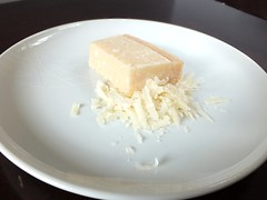 Dscf2995E (microwave94) Tags: food cooking cheese recipe baking blog ingredients dairy bake gratedcheese foodstuffs parmesan cheesey parmigianoreggiano grated homebaking parmesancheese milkproduct dairyproducts bakingblog threecheesebreadsticks