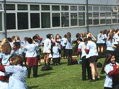 Year 11 Shirt Signing Day (WycombeHighSch) Tags: day year tshirt 11 signing