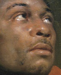 medievalpoc: 1800s Week! John Phillip Simpson The Captive Slave (Ira Aldridge as model) England (1827) Oil on canvas 50 x 40 in. (127 x 101.5 cm) The Art Institute of Chicago The story of this artwork is quite remarkable. The Art Institute of Chicago anno (medievalpoc) Tags: original for post info ira aldridge reblog posterity