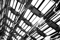 Abyss (Jeff Heurteur) Tags: blackandwhite bw white abstract black blur paris france film lines analog 35mm blackwhite noir noiretblanc kodak trix du nb minimal arabe minimalism monde institutdumondearabe blanc canon300v institut ima 400asa noirblanc lightroom abstrait kodaktrix400 linescurves artisticblur
