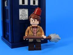 I'm the Doctor (MrKjito) Tags: matt lego who smith 11 doctor fez minifig tardis mop