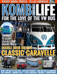 Kombi Life Issue 13 (Eric Arnold Photography) Tags: life bus window vw magazine volkswagen shoot photoshoot safari cover split camper kombi feature caravelle doubledoor splitty kombilife