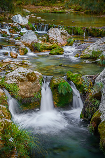 Chorreras en Río Borosa - Sierra de Cazorla