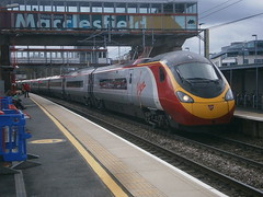 390010 @ Macclesfield (ianjpoole) Tags: street london liverpool spirit working trains virgin lime euston the cumbrian 1f16 390010