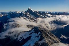 Mount Sefton (Pete Prue) Tags: newzealand snow mountains altitude aerial glacier alpine airborne southernalps mountcook sefton mountsefton peterprue