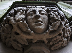 Green Man at Derby Cathedral (DncnH) Tags: cathedral derbyshire derby greenman 16thcentury derbycathedral