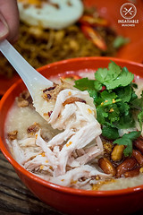 Grandfather's congee, $12.80: Ho Jiak, Strathfield. Sydney Food Blog Review (insatiablemunch) Tags: durian spicy chilli malaysian congee strathfield nasigoreng chickenbreast kayaroti nasipattaya sambalkangkung indomiegoreng authenticmalaysianfood malaysianfoodinsydney