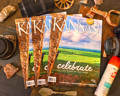 Kansas Magazine Cover (Kansas Poetry (Patrick)) Tags: cows kansas flinthills teterrock patrickemerson kansasmagazine patricklovesnancy