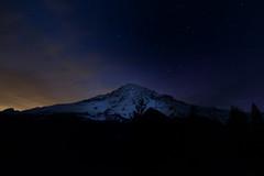 Night Sky in Mount Rainer National Park (bcdixit) Tags: usa nationalpark nikon astrophotography rainier washingtonstate mtrainier mtrainiernationalpark nikond750
