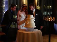New York. Wedding cake. (denisbin) Tags: wedding newyork dusk manhattan weddingcake midtown timessquare hudsonriver empirestate skylark skylarkroom