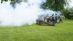 Naper Settlement Civil War Days Naperville Illinois Confederate Artillery (patzersmurf) Tags: illinois war days confederate civil artillery naperville settlement naper