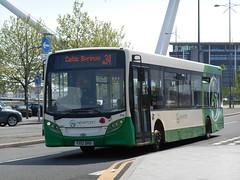 Newport Bus 314 (Welsh Bus 16) Tags: newport 314 adl enviro200 newportbus yx12dho