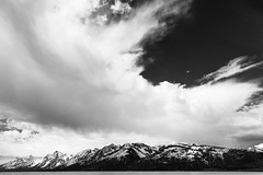Tetons (mr.bmonroe) Tags: mountains nature clouds grandtetons range