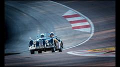 Jaguar XK 140 Roadster (1954) (Laurent DUCHENE) Tags: jaguar roadster 140 xk 2016 tourauto peterauto dijonprenois