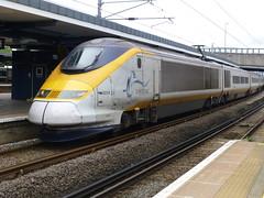 Eurostar 3224 arriving at Ashford (Jon Horrocks) Tags: eurostar ashfordinternational 3224