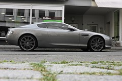 stopper (Fabian Rker | photography) Tags: beauty speed silver james photo power shot profile casio soul bond rims exilim supercar bielefeld astonmartin coup 007 db9 carspotting h15 gallambo