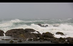 The Storm II... (Minkn) Tags: world blue light sea cloud storm color beautiful norway walking spectacular landscape lights norge nice scenery skies with sony great norwegian scenary stunning lense rogaland bl landskap the waterworld naturesfinest blge nordsjen scenicsnotjustlandscapes minkn slta55v