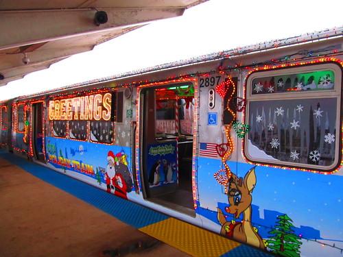 2011 cta holiday train at 63rdashland - Cta Christmas Train 2014