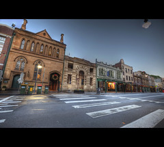 The Rocks (Ivan Abednego) Tags: street buildings ed george nikon rocks angle wide sydney nsw f4 hdr vr 1635 d700