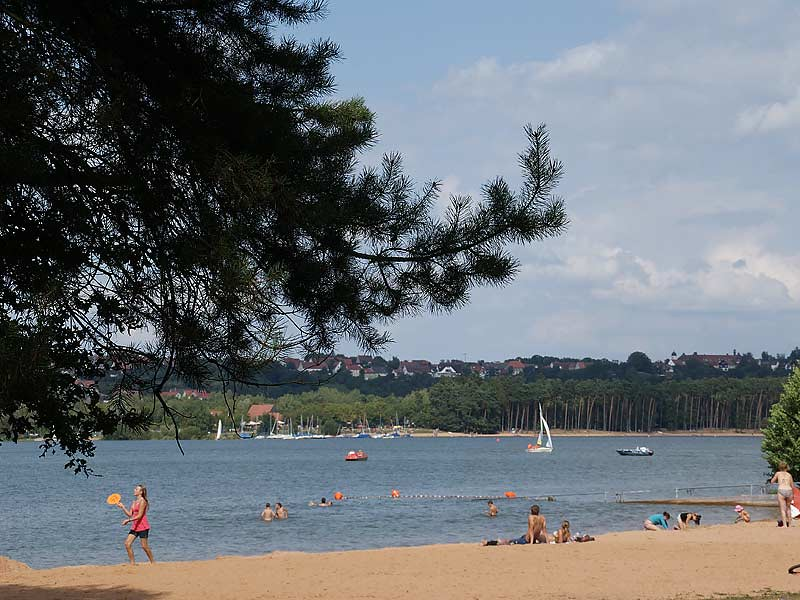 Badestrand am Brombachsee