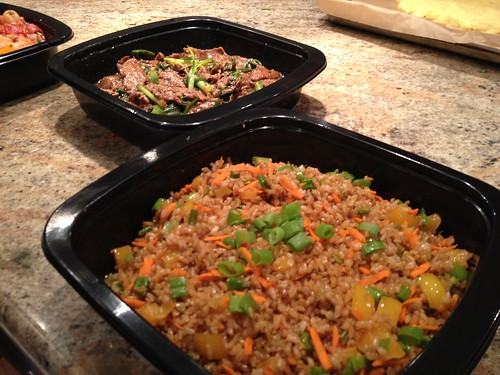 PF Chang's Mongolian Beef with Veggie Fried Rice